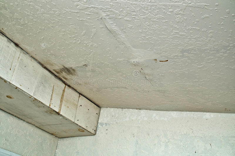 Leak in ceiling when it rains Roof leaks when it rains hard