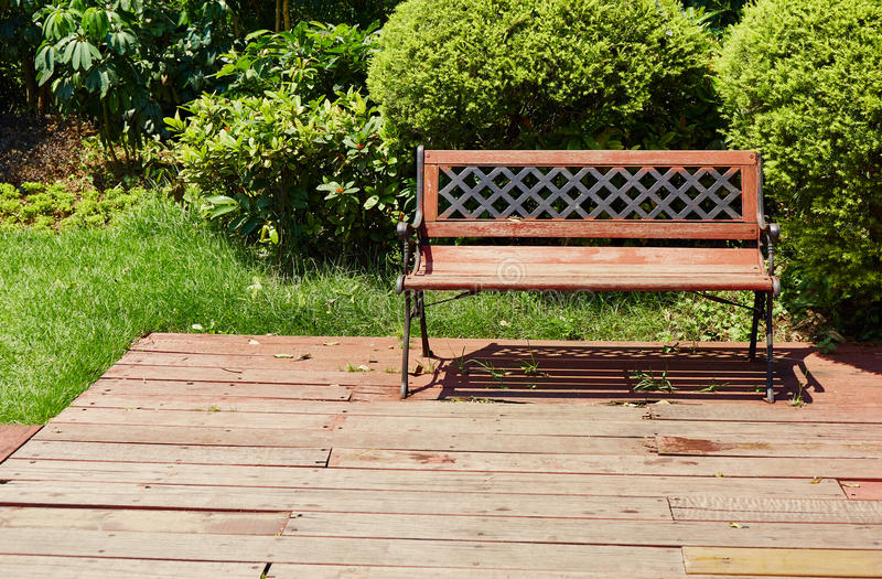 chair on wooden deck wood outdoor patio