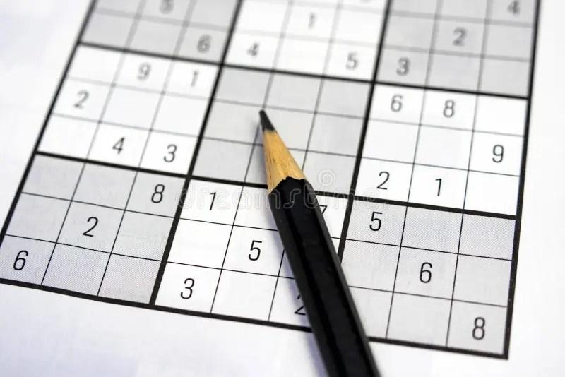 Logic Worksheet Stock Images