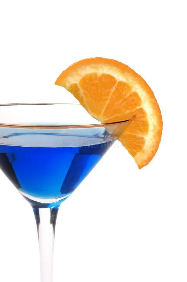 Cocktail Bleu Avec Un Fruit Voyant Photo stock - Image du ...