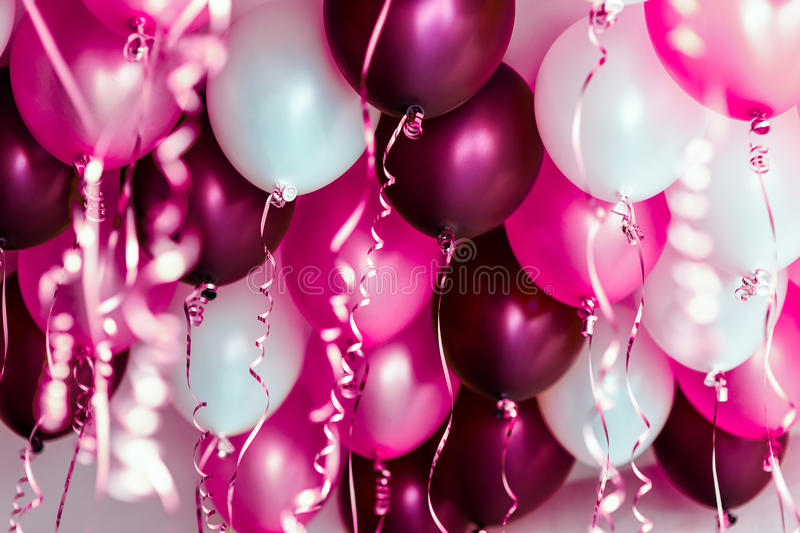 12th Birthday Pink Balloons