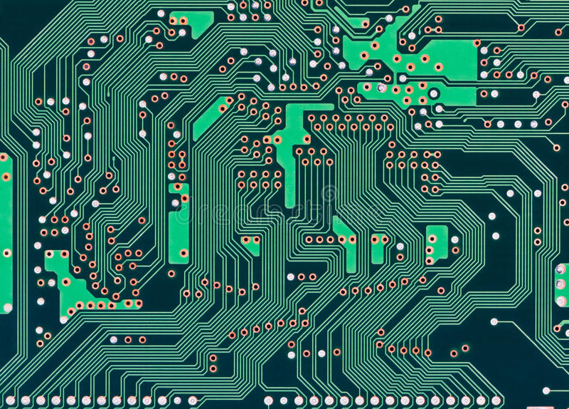 Computer Circuit Board Royalty Free Stock Photos