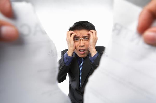 Contract Refusal Or Rejection Stock Images - Image: 14680964