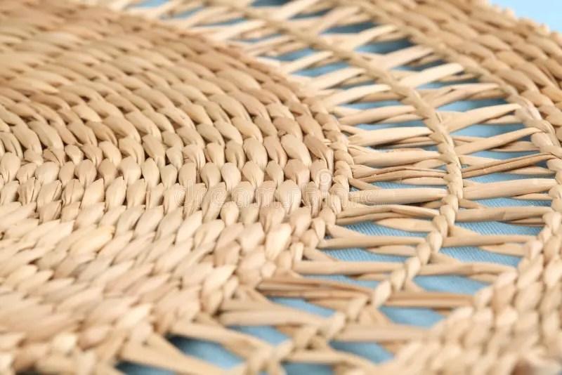 couvre tapis de paille photo stock