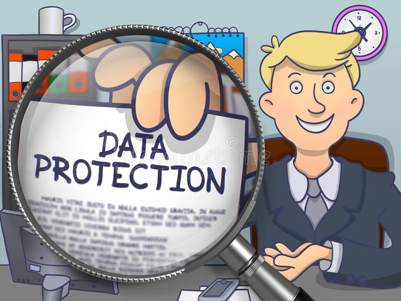 Image result for Data protection doodles