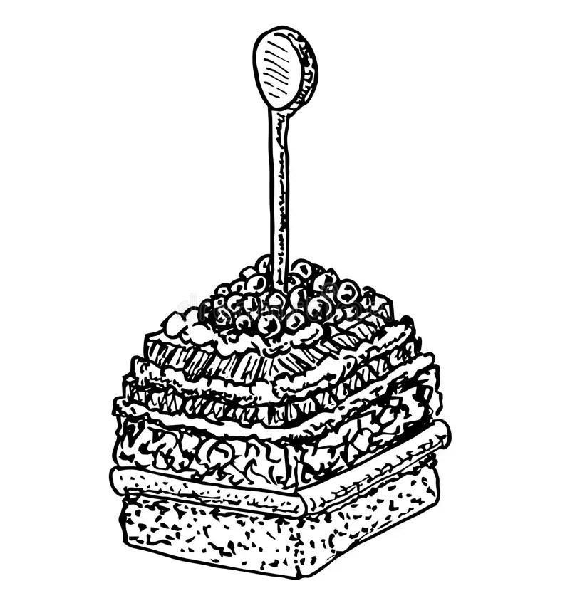 aperitif stock illustrations vecteurs