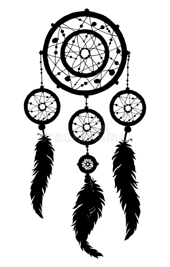 Simple Dream Catcher Clip Art