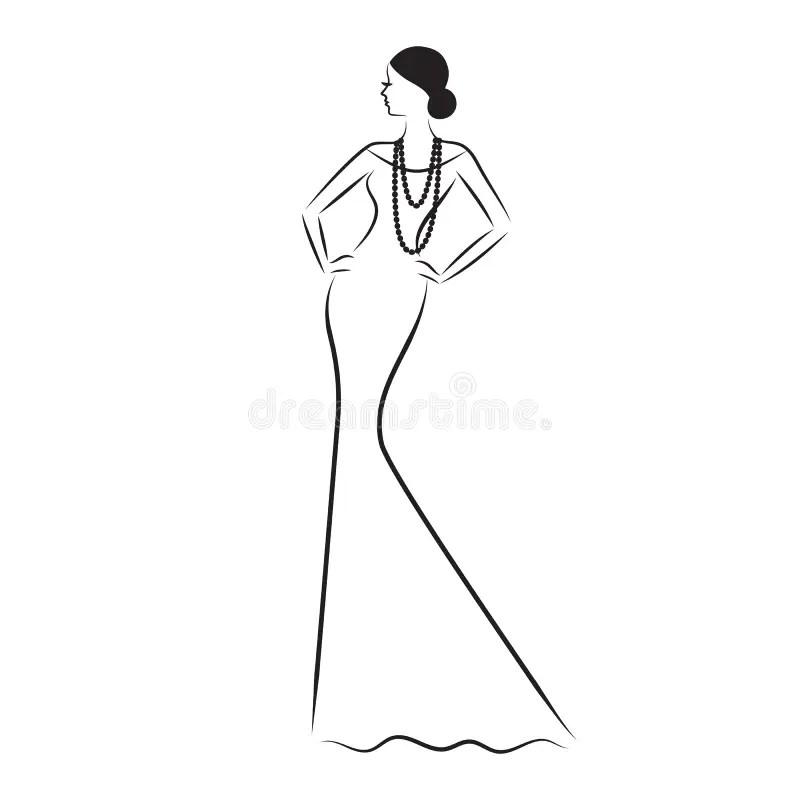 Female Sketch Model Template