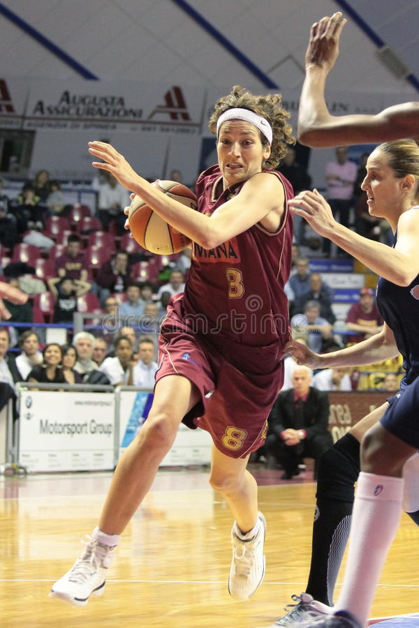 Female Basketball Players In Action Editorial Stock Image ...