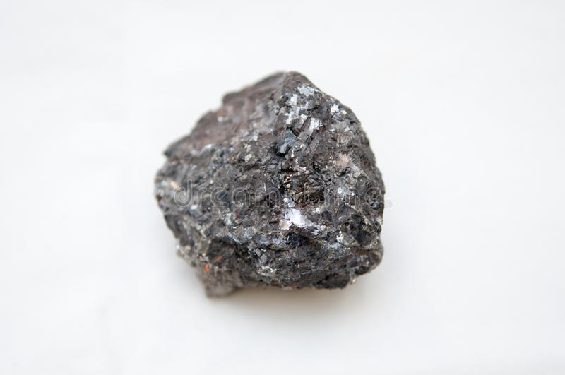 Galena Mineral With Silver Stock Photo Image 57673893