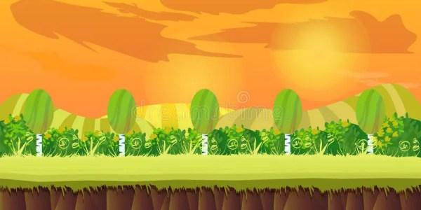 Game Background 2d Application Vector Design Tileable