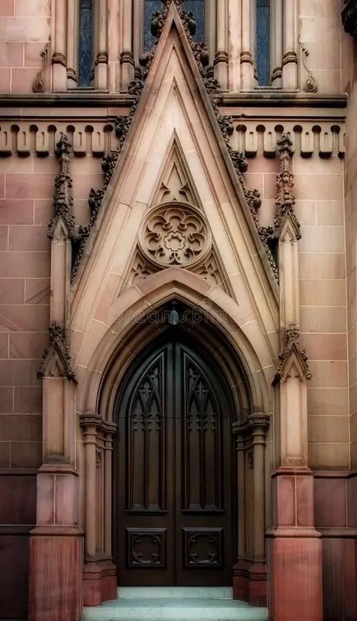 Gothic Door Stock Photo Image Of Religion Church Gothic