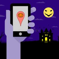 halloween messages for phone