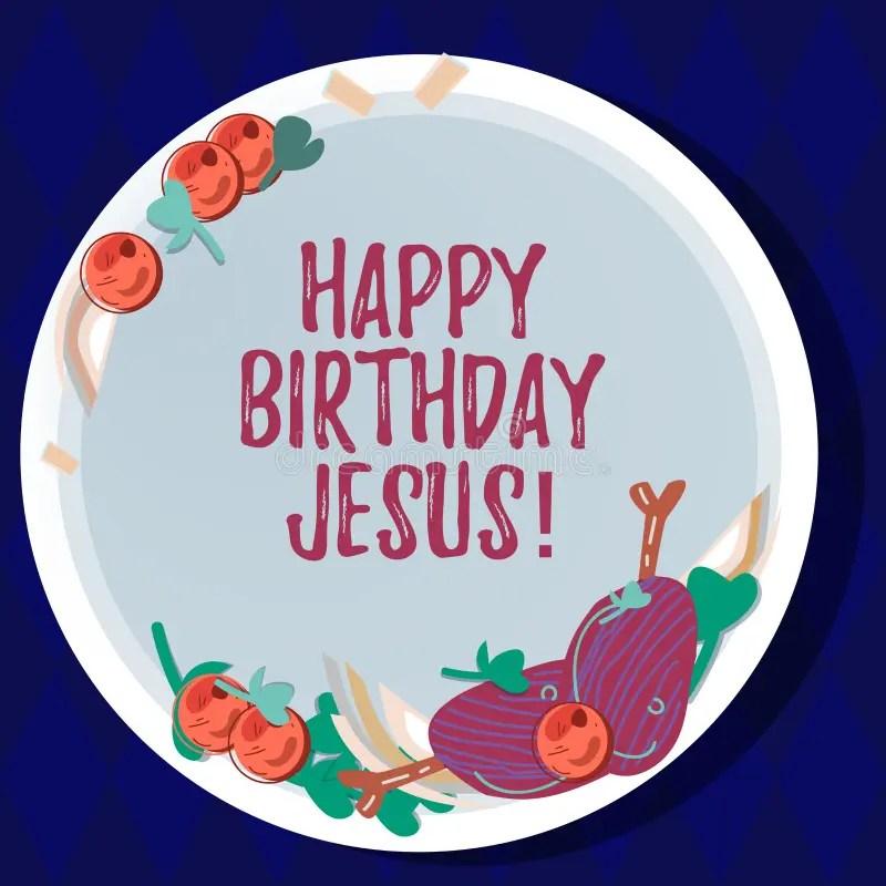 birthday jesus stock illustrations