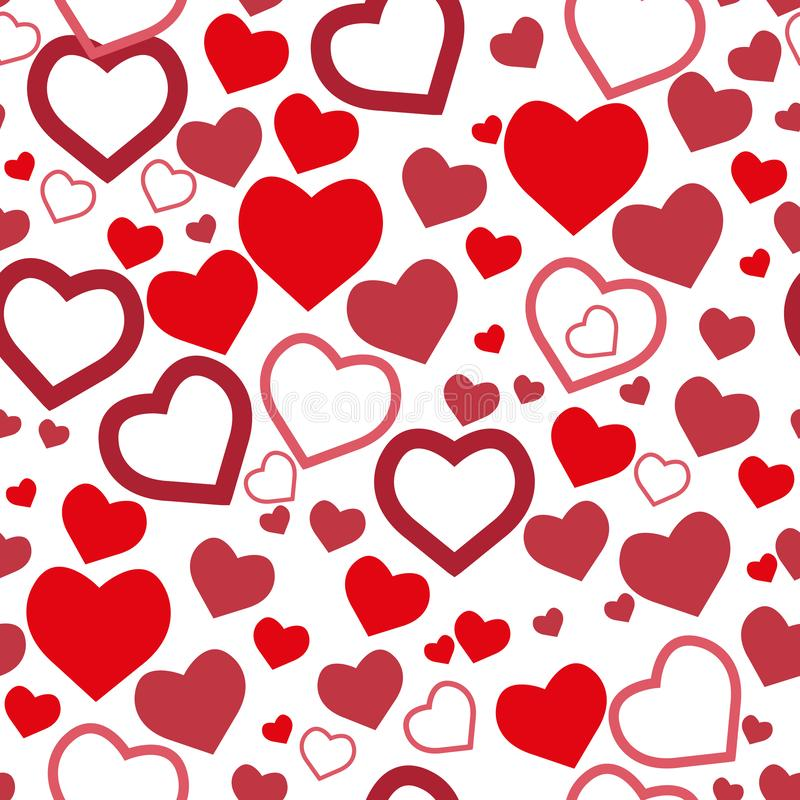 Download Beautiful Colorful Heart Shape Background. EPS 8 Stock ...