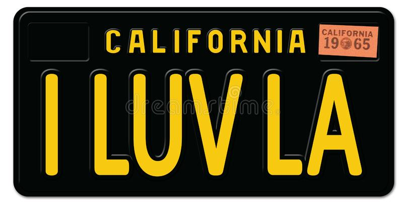 Download California License Plate Stock Illustrations - 67 ...