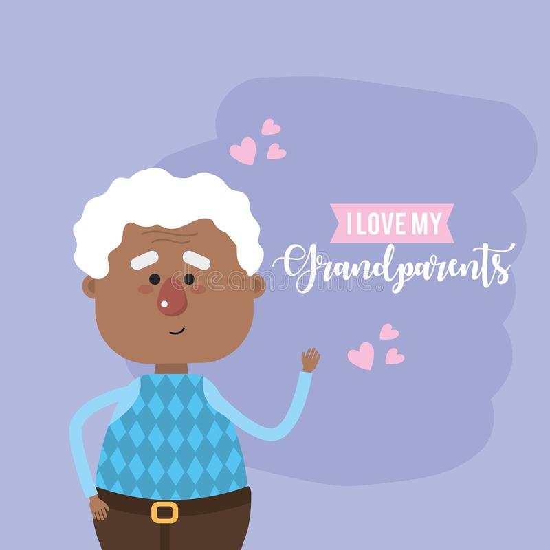 Download Nice Grandparents Head With Celebration Design Stock ...