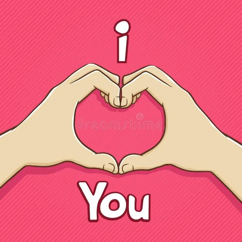 Download I love You Hand Symbol stock vector. Illustration of ...