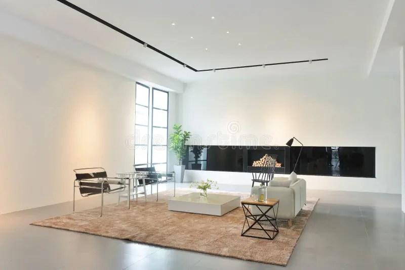 salon de maison moderne photo stock