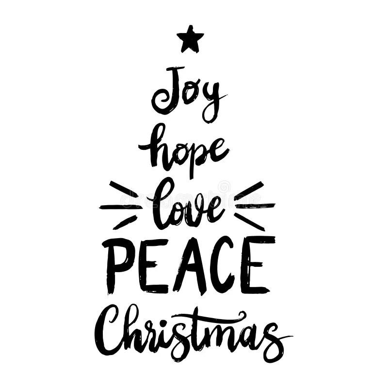 Download Joy Hope Love Peace Christmas Versiering Handgeschreven ...