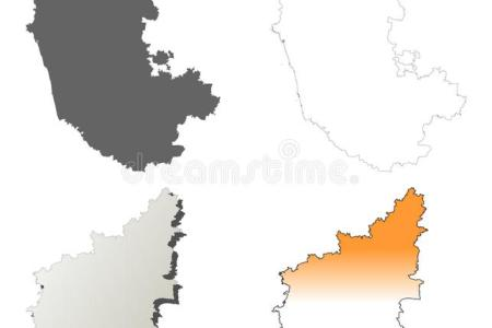karnataka outline map free download » Path Decorations Pictures ...