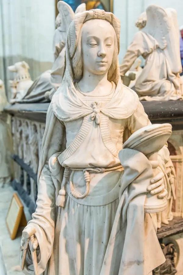 La Tomba Di François II, Una Statua Raffigurante La Virtù Della Prudenza Nella Cattedrale Di Nantes Saint-Pierre E Saint-Paul, Fr Immagine Stock - Immagine di cattedrale, michel: 158333143
