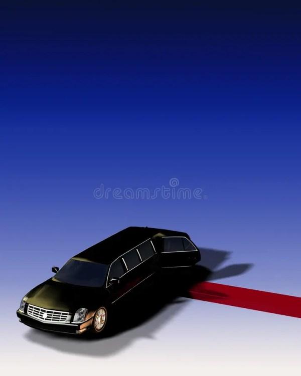 Limousine Avec Du Tapis Rouge Photographie stock - Image ...