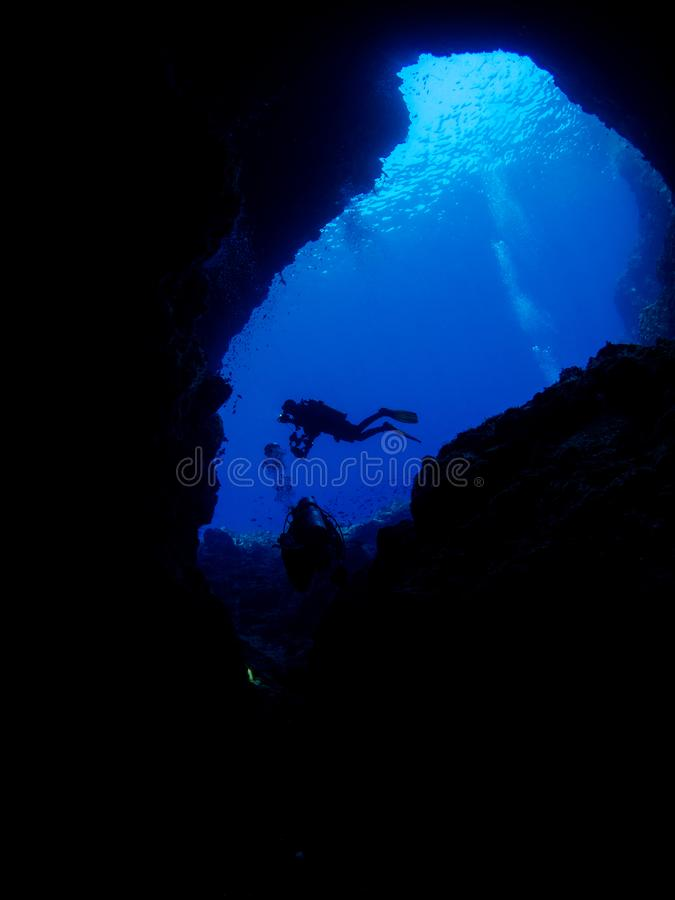 Cave Diving In Alor Stock Image Image Of Paradise Pacific 108374249