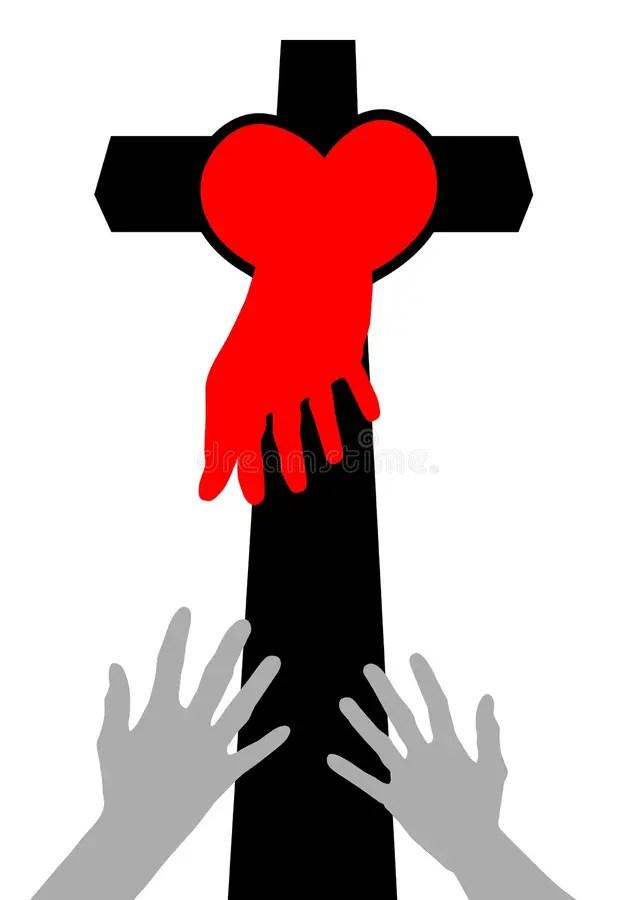 Download Christian Hand-drawn Symbols Illustration Stock Vector ...