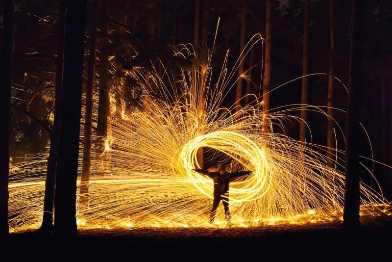 Orb Stock Photo Image Of Abstract Hallway Wood