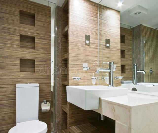 Download Marble Bathroom With Mosaic Tiles Stock Photo Image Of Residence Basin
