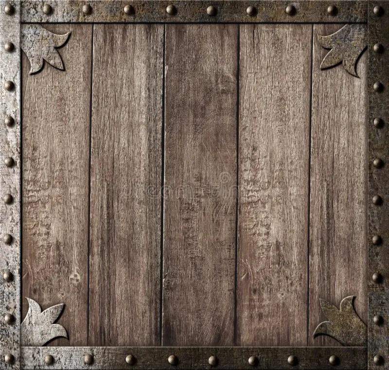 Medieval Wooden Background Stock Image Image Of Door