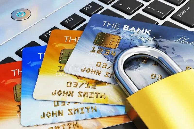 Bank Security Credit Pay Card