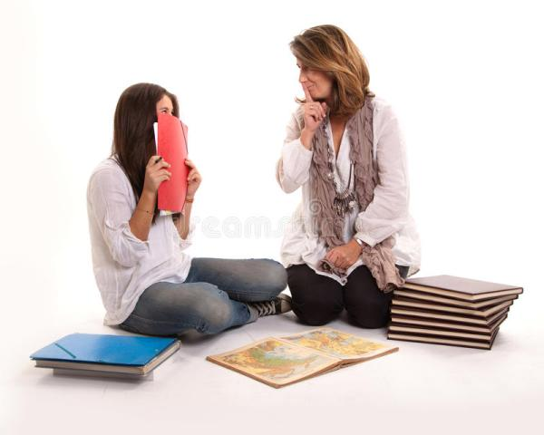 Mother And Daughter Secret Royalty Free Stock Photos ...