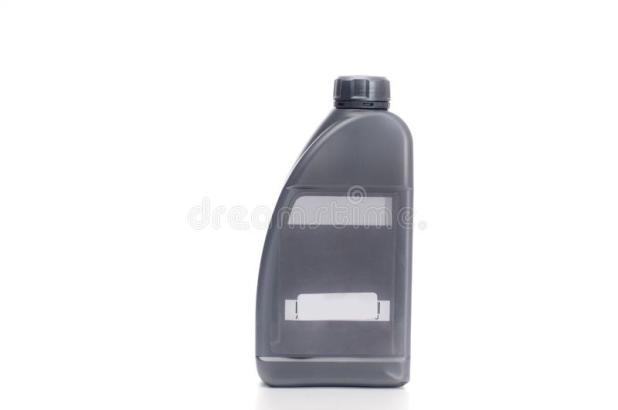 Motor Oil Plastic Container With Engine Stock Image Of Flammable