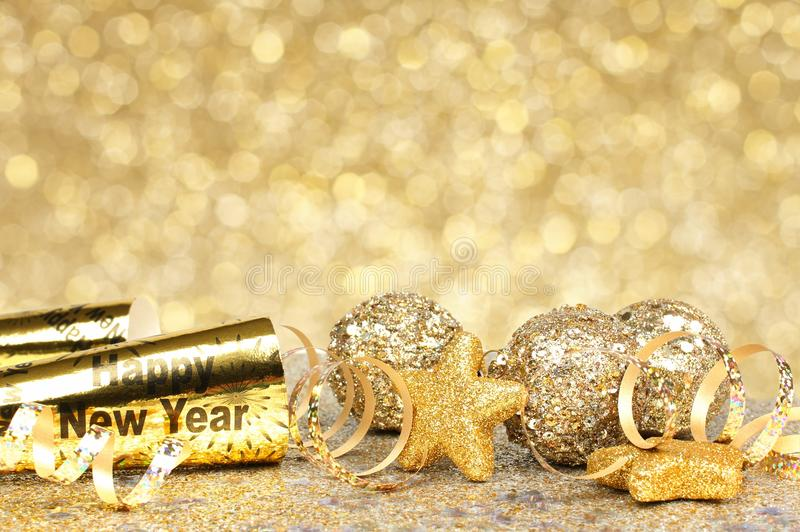 glitter new years border