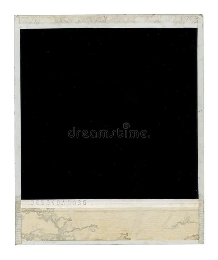 Dirty Polaroid Frame Back Stock Image Image Of Frame