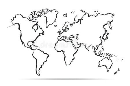 map of the world outlines » Free Interior Design | Mir Detok