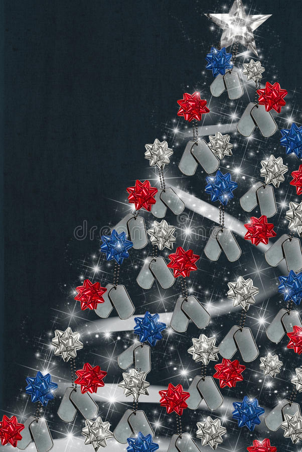 Patriotic Christmas Stock Illustration Image Of Fancy
