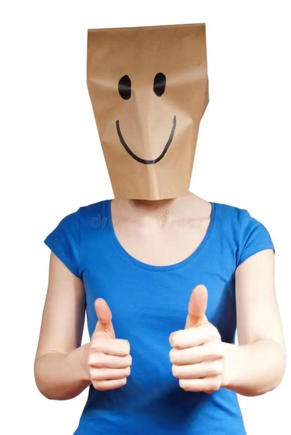 Personne avec un masque image stock. Image du amusement ...