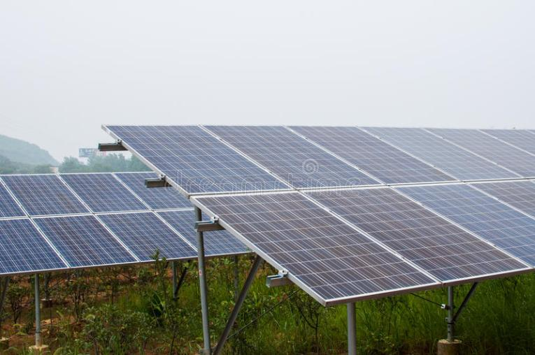 Photovoltaic cell array stock photo  Image of chinese   56342068 Download Photovoltaic cell array stock photo  Image of chinese   56342068