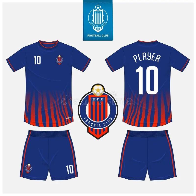 Download Soccer Jersey Or Football Kit Mockup Template Design For ...