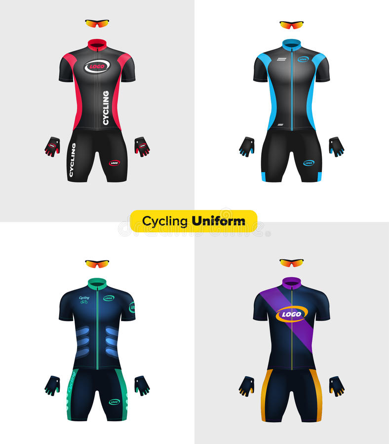 1544+ free basketball jersey template psd dxf include. Realistic Cycling Uniforms Branding Mockup Bike Or Bicycle Clothing And Equipment Special Kit Short Sleeve Jersey Glov Stock Illustration Illustration Of Clothes Gloves 77709779