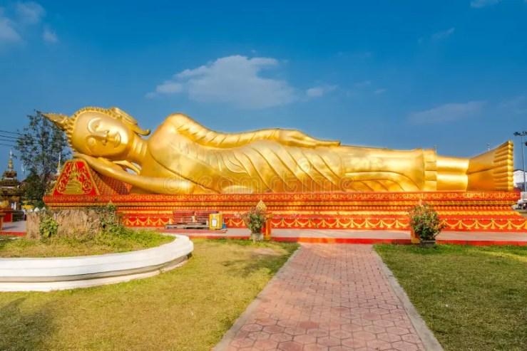 Image result for vientiane laos golden buddha