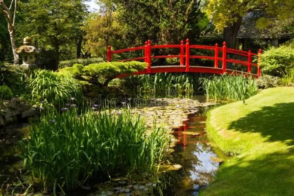 japanese gardens kildare ireland Red Bridge. Irish National Stud's Japanese Gardens