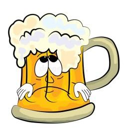 Znalezione obrazy dla zapytania beer sad