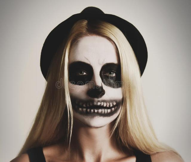 Best  Scary Face Paint Ideas On Pinterest Halloween