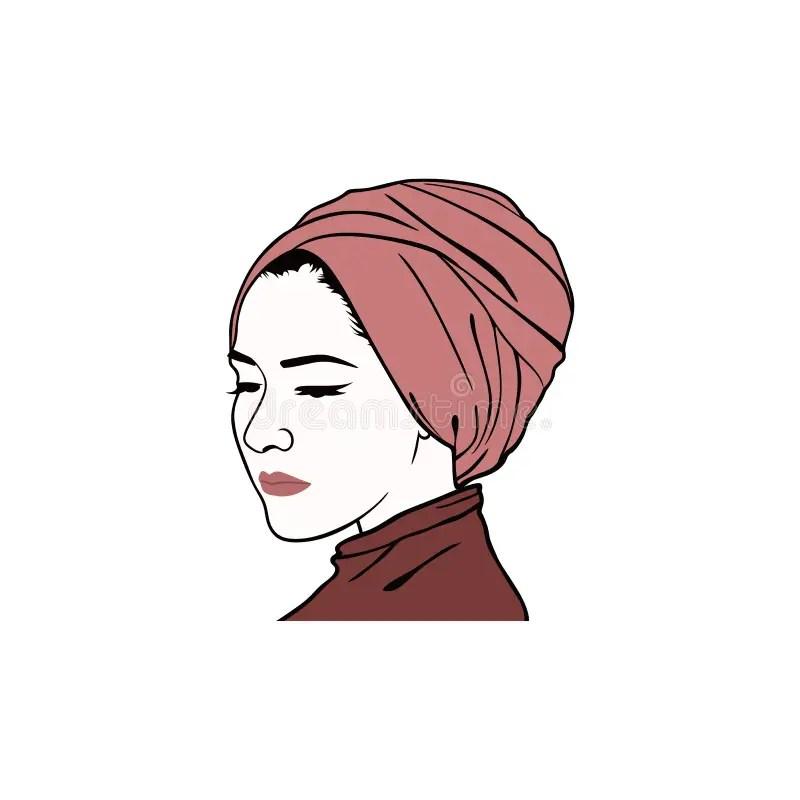 M (7) filter, 7 verfügbar. Sch?ner Moslemischer M?dchen Hijab-Vektor-Entwurf Logo ...