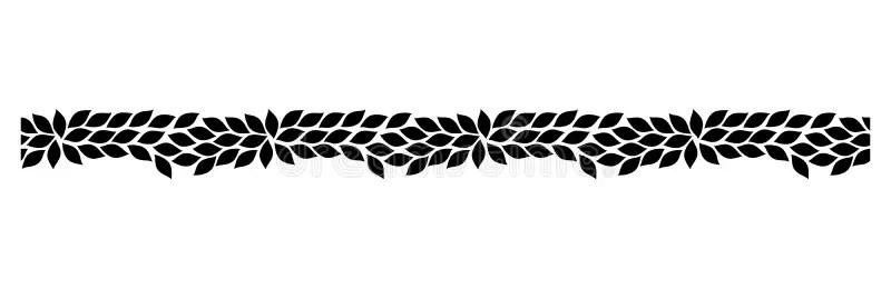 vector decorative seamless border design stock vector illustration of decorative corner 182004170