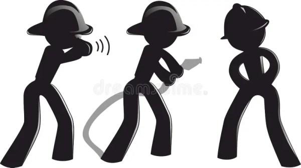 fireman silhouette clip art # 57